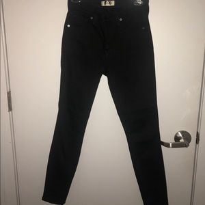 Madewell high-rise Black Jeans